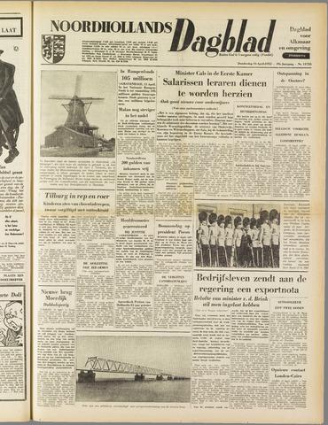 Noordhollands Dagblad : dagblad voor Alkmaar en omgeving 1953-04-16