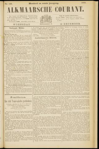 Alkmaarsche Courant 1899-12-13