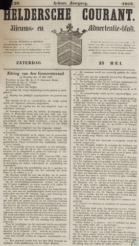 Heldersche Courant 1868-05-23