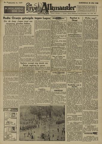 De Vrije Alkmaarder 1949-07-28