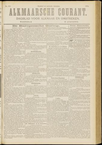 Alkmaarsche Courant 1914-08-12