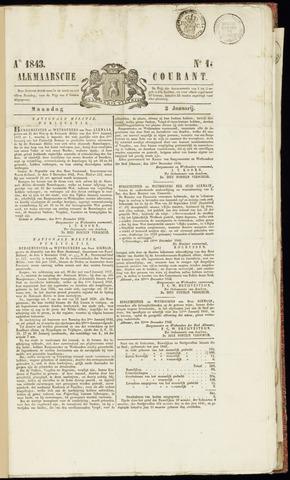 Alkmaarsche Courant 1843-01-02