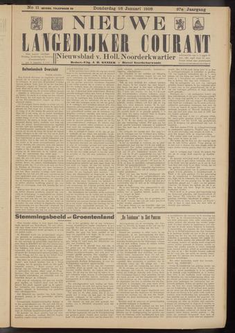 Nieuwe Langedijker Courant 1928-01-26