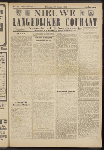 Nieuwe Langedijker Courant 1927-03-29
