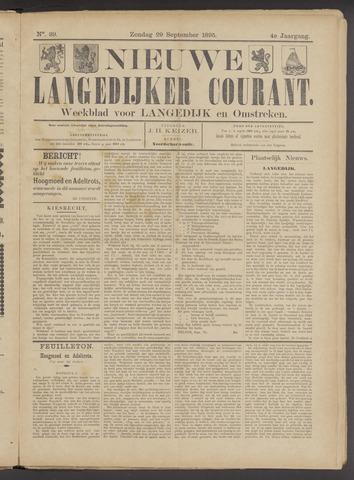 Nieuwe Langedijker Courant 1895-09-29