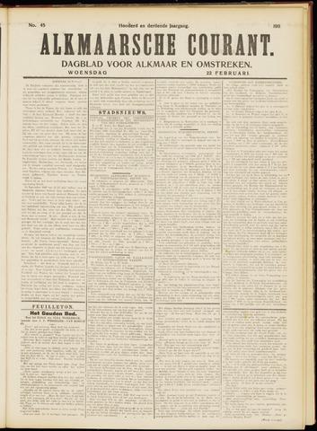 Alkmaarsche Courant 1911-02-22