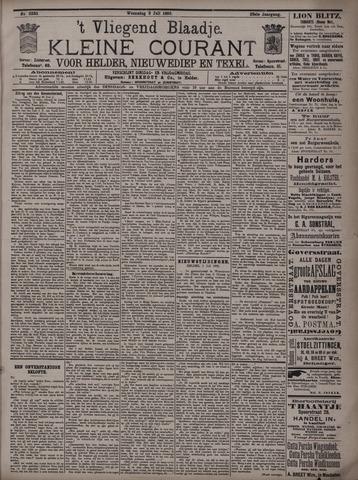 Vliegend blaadje : nieuws- en advertentiebode voor Den Helder 1895-07-03