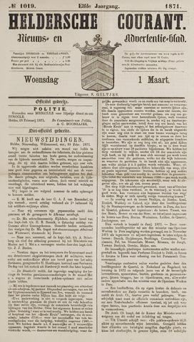 Heldersche Courant 1871-03-01