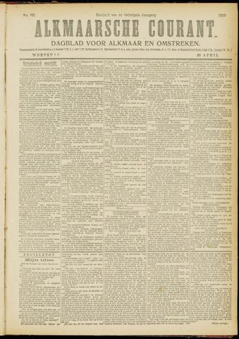 Alkmaarsche Courant 1919-04-30