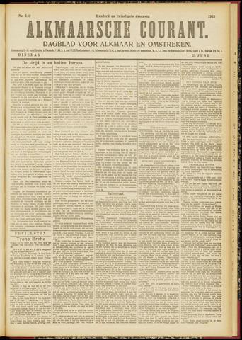 Alkmaarsche Courant 1918-06-25