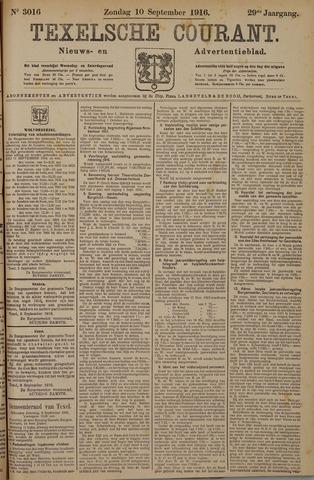 Texelsche Courant 1916-09-10