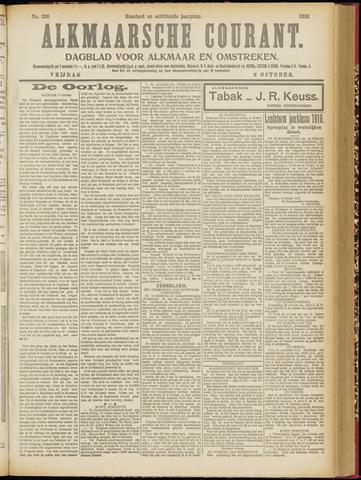 Alkmaarsche Courant 1916-10-06