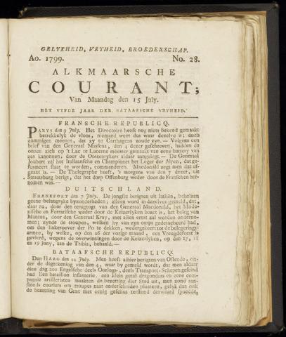 Alkmaarsche Courant 1799-07-15