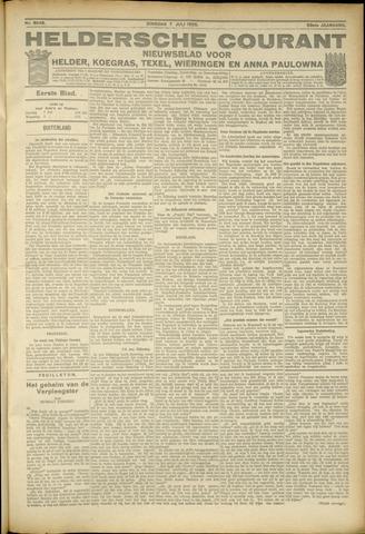 Heldersche Courant 1925-07-07