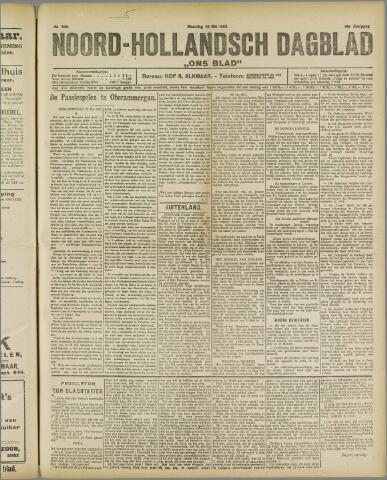 Ons Blad : katholiek nieuwsblad voor N-H 1922-05-29