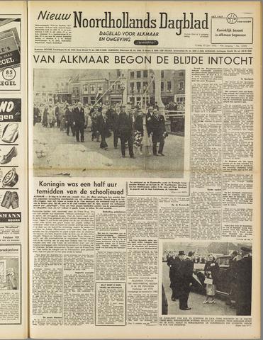 Nieuw Noordhollandsch Dagblad : voor Alkmaar en omgeving 1952-06-20