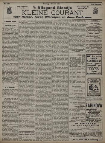 Vliegend blaadje : nieuws- en advertentiebode voor Den Helder 1908-01-04