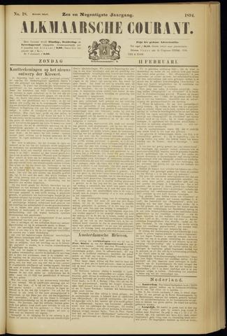 Alkmaarsche Courant 1894-02-11