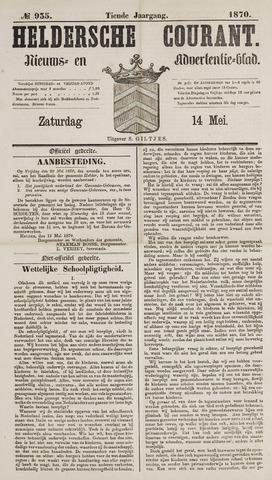 Heldersche Courant 1870-05-14