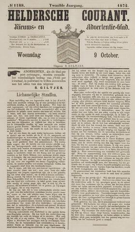 Heldersche Courant 1872-10-09