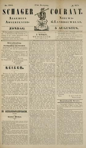 Schager Courant 1883-08-05