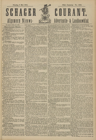Schager Courant 1911-05-02