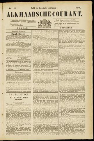 Alkmaarsche Courant 1886-12-03