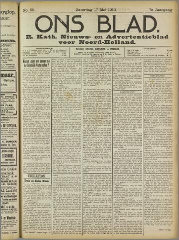 Ons Blad : katholiek nieuwsblad voor N-H 1913-05-17