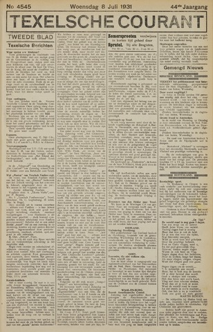 Texelsche Courant 1931-07-08