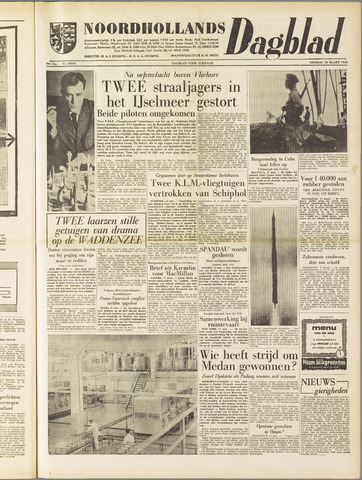 Noordhollands Dagblad : dagblad voor Alkmaar en omgeving 1958-03-18