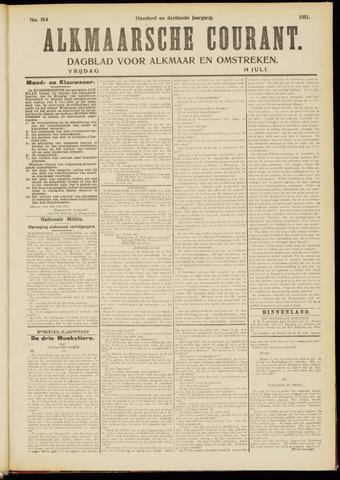 Alkmaarsche Courant 1911-07-14