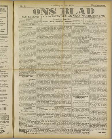Ons Blad : katholiek nieuwsblad voor N-H 1919-05-12