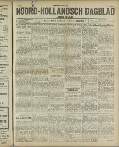 Ons Blad : katholiek nieuwsblad voor N-H 1922-02-27