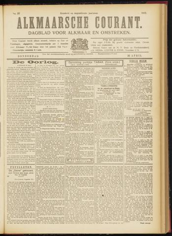 Alkmaarsche Courant 1917-04-26