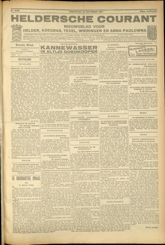 Heldersche Courant 1927-11-24