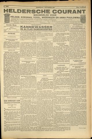 Heldersche Courant 1927-09-01