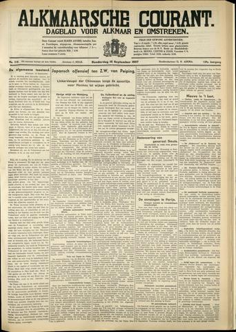 Alkmaarsche Courant 1937-09-16