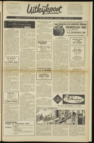 Uitkijkpost : nieuwsblad voor Heiloo e.o. 1962-10-25