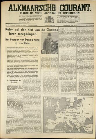 Alkmaarsche Courant 1939-05-05