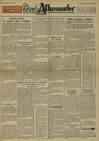 De Vrije Alkmaarder 1948-03-15