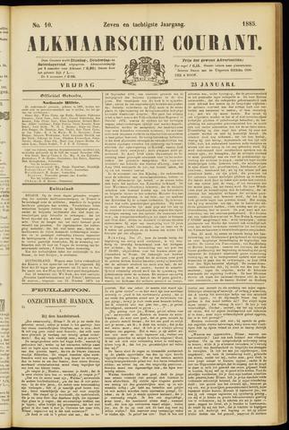 Alkmaarsche Courant 1885-01-23