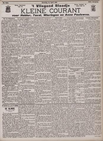 Vliegend blaadje : nieuws- en advertentiebode voor Den Helder 1906-04-28