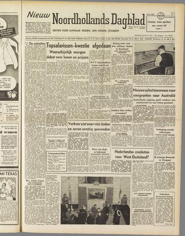Nieuw Noordhollandsch Dagblad : voor Alkmaar en omgeving 1951-03-29