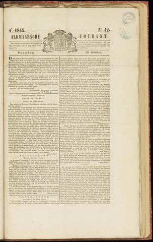 Alkmaarsche Courant 1845-10-20