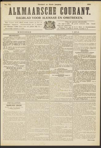 Alkmaarsche Courant 1908-07-01