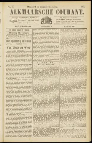 Alkmaarsche Courant 1905-02-01