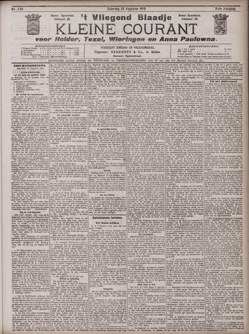 Vliegend blaadje : nieuws- en advertentiebode voor Den Helder 1903-08-22