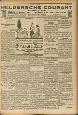 Heldersche Courant 1923-06-05