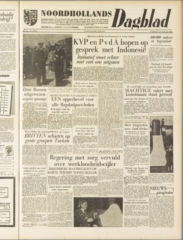 Noordhollands Dagblad : dagblad voor Alkmaar en omgeving 1958-01-29