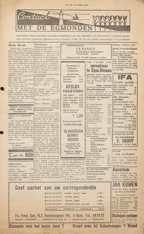 Contact met de Egmonden 1964-10-29